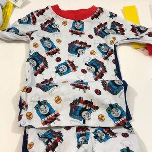 Thomas & Friends Pajamas - 4 piece NWT Thomas the Train PJ (2 outfits)